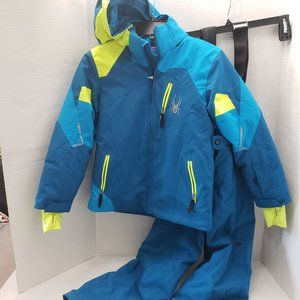 Spyder Kids Jacket Coat & Snow Ski Pants 10 140